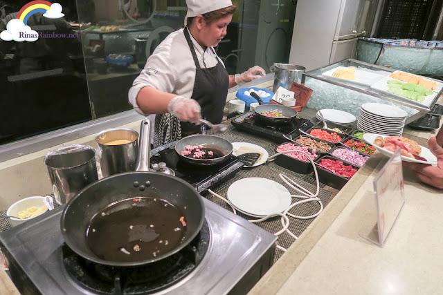 omelette station