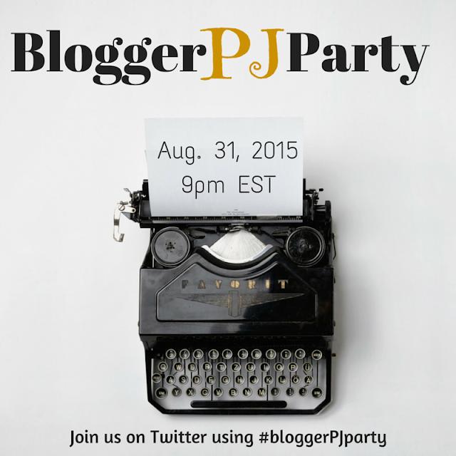 August #bloggerPJparty