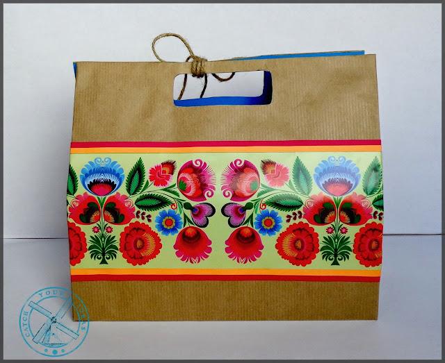 torebka na prezent, torebka prezentowa, jak zapakowac prezent, recznie robiona torebka na prezent, torebka prezent handmade