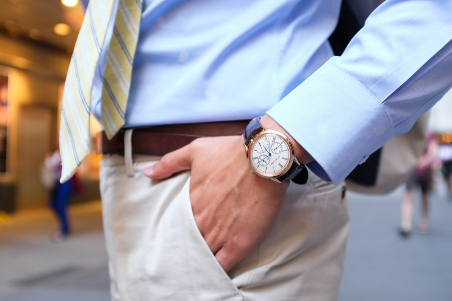 Levitate Style | McCabe Watch, Rose Gold Chronograph