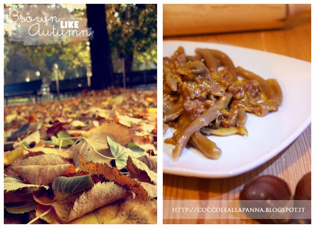 Brown like autumn i nostri men essenza in cucina for Z cucina menu