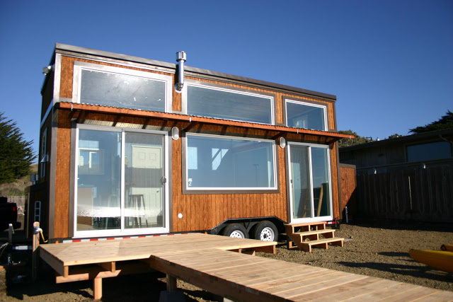 A surf shack with a view living in a shoebox for Shack homes