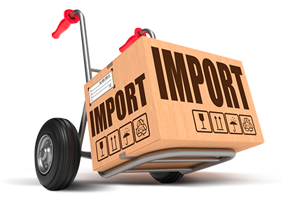 importando produtos