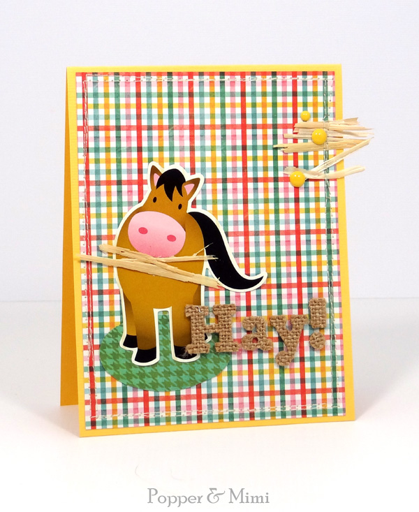 Hay is for Horses Card