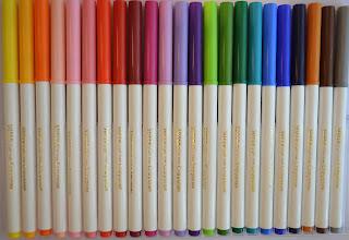 Crayola felt tip pens