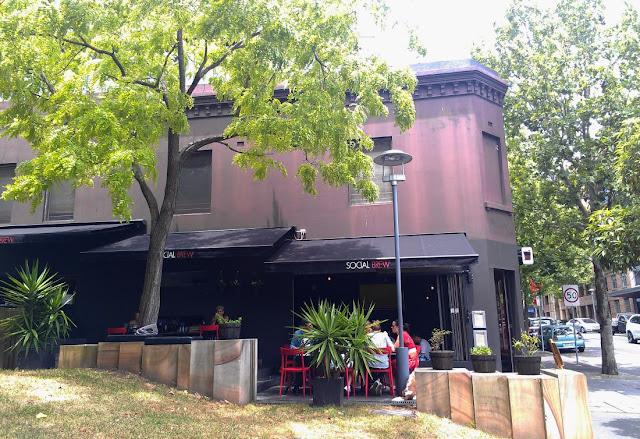 Social Brew Cafe, Pyrmont, Sydney