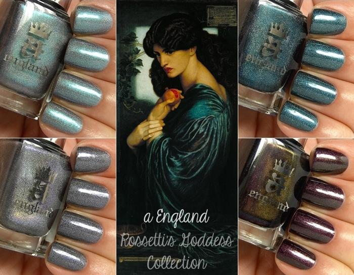 a England Rossetti's Goddess