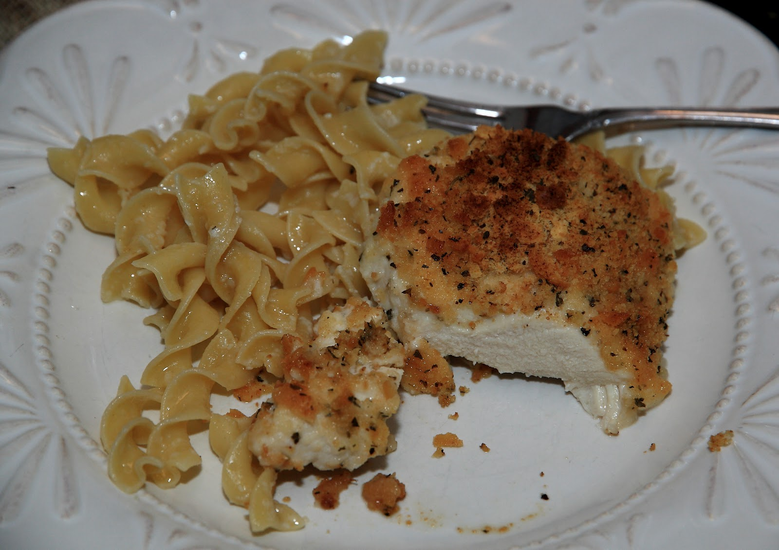Parmesan Crusted Chicken - Yellow Bliss Road