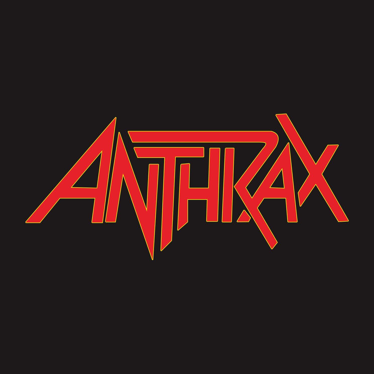 logo anthrax vector