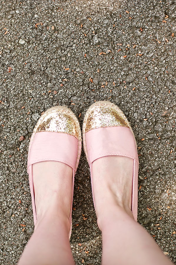 Glitter Espadrilles