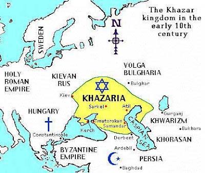 PILIHAN RASIONAL YAHUDI ISRAEL: KEMBALI KE KHAZARIA ATAU HIDUP DAMAI