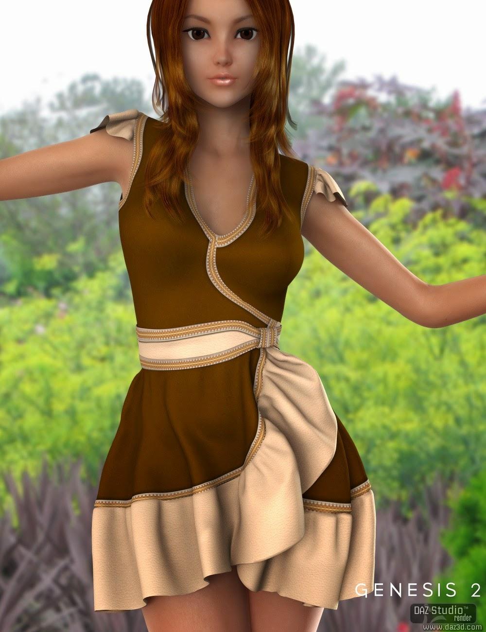 Robe Dahlia pour Genesis 2 Femme