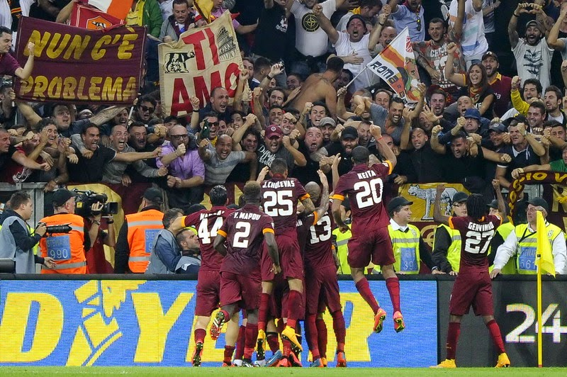 Liga Champions : Jelang Laga AS Roma vs City