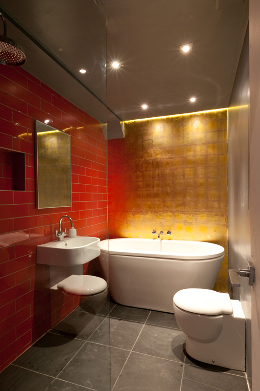 Crystal palace underground toilets renovation Bathroom design company london