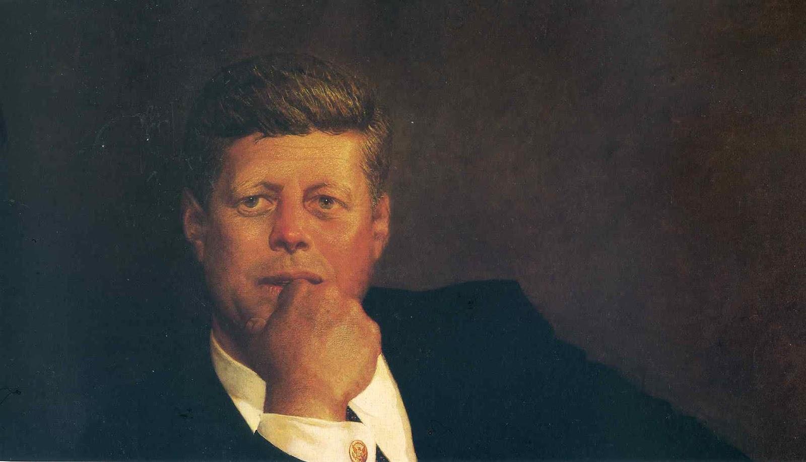John F Kennedy Oil Painting