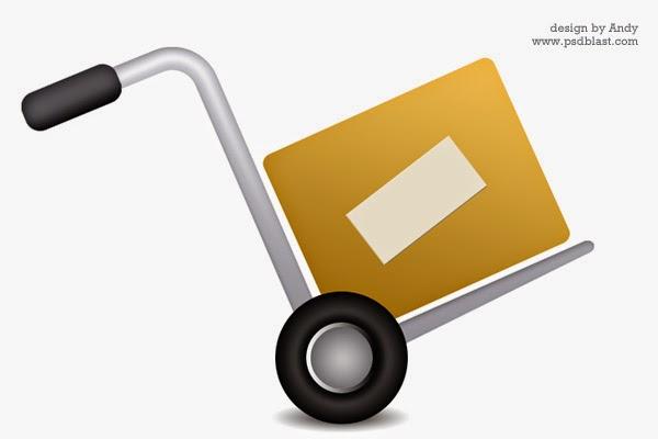 Shopping Cart Icon PSD