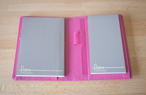 Pink Filofax Flex Pocket - First Edition