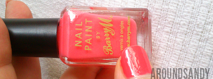Barry M - Esmalte 305 Pink Flamingo