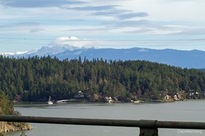 Mount Baker from the Deception Pass Bridge