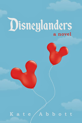 Book cover showing two Mickey ballons in the blue sky.