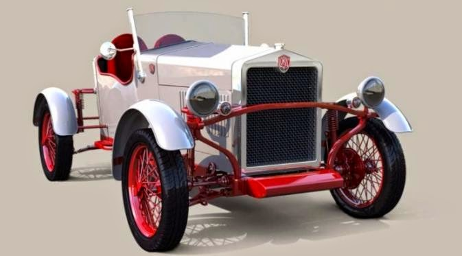 Loryc Electric Speedster ,  Antique Electric Cars Modern Design