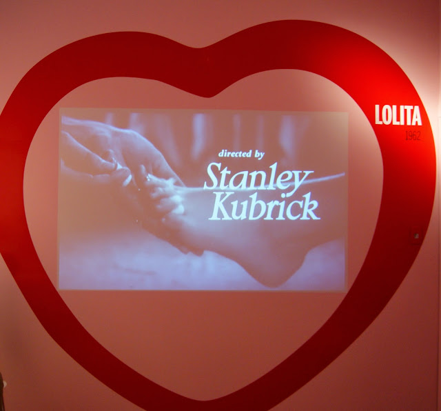 Stanley Kubrick: The Exhibition at TIFF Bell Lightbox in Toronto, culture, film, movies, director, filmaker, art, artmatters,ontario, canada, the purple scarf, melanieps, props, costumes, clip, lolita, 1962