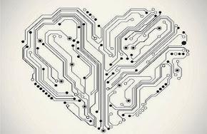 technology heart motherboard
