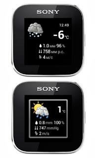 SmartWeather cho đồng hồ thông minh