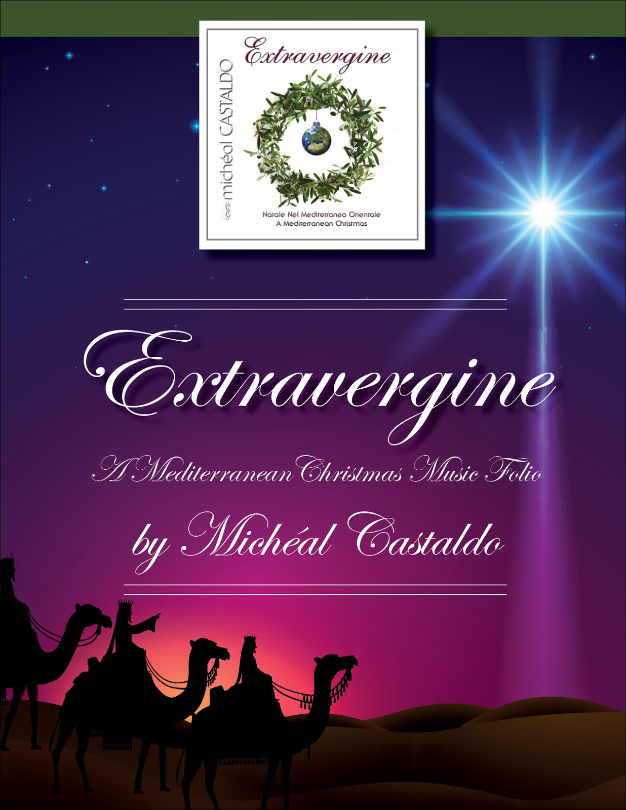 the folio includes the music for 15 carols including the following seasonal favorites oh santa notte oh holy night e nato il bambino gesu what - Italian Christmas Music