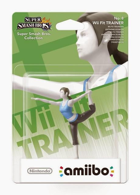 JUGUETES - NINTENDO Amiibo  8 - Figura Entrenadora de Wii Fit | Wii Fit Trainer  (28 noviembre 2014) | Videojuegos | Muñeco |  Super Smash Bros Collection | Plataforma : Wii U