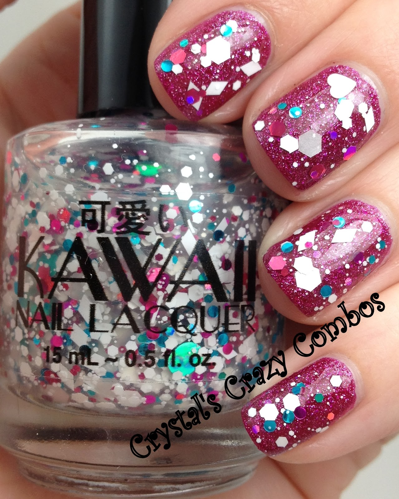 Crystal\'s Crazy Combos: Kawaii Nail Lacquer