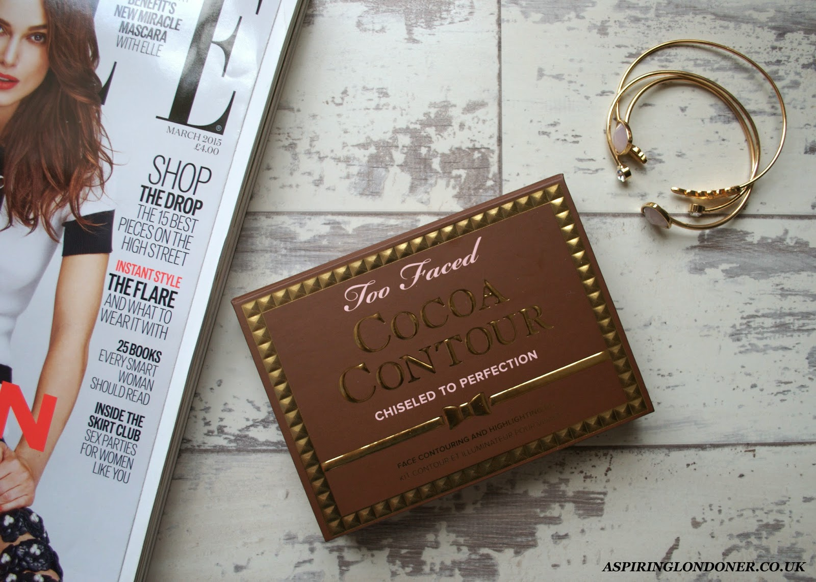 Too Faced Cocoa Contour Chiseled To Perfection Palette Review - Aspiring Londoner