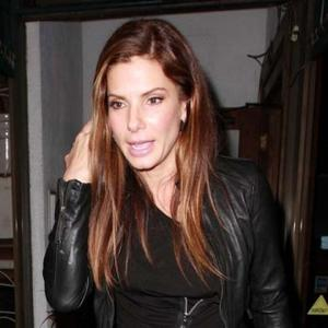 Sandra Bullock Long Blonde Hairstyles