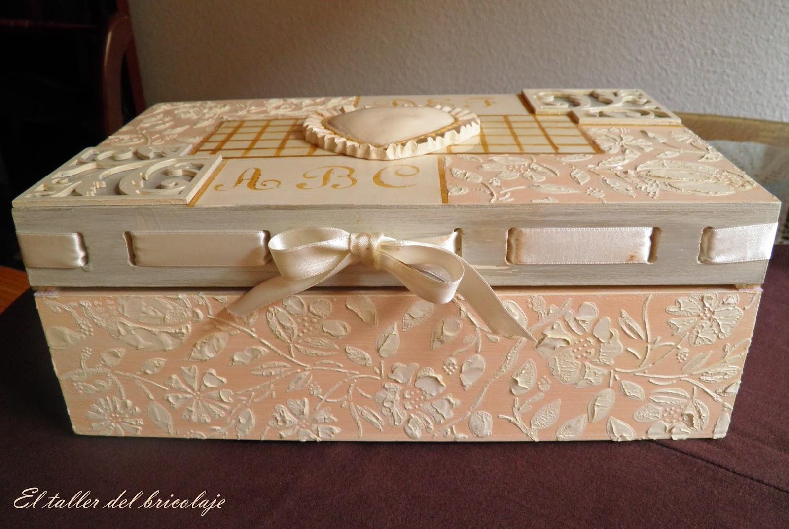 caja de madera decorada 8
