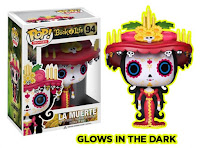 Funko Pop! La Muerte GITD HOT TOPIC