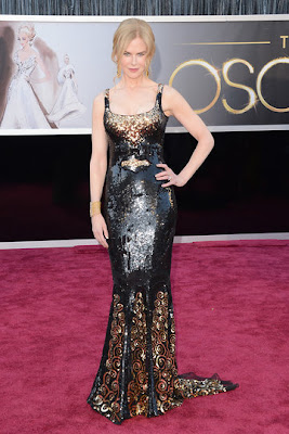 NICOLE KIDMAN RED CARPET OSCAR 2013
