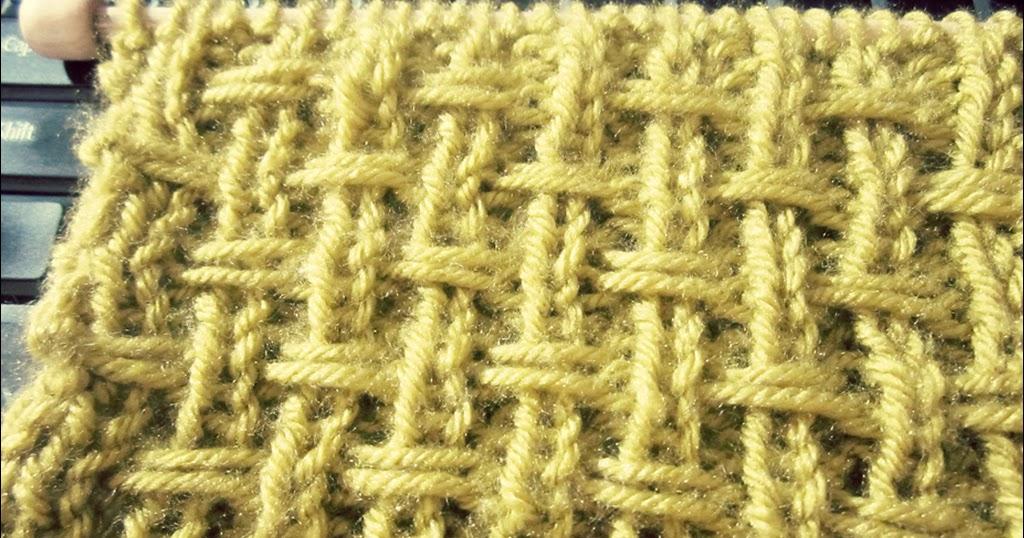 Broken Rib Slip Stitch- Knit Texture Looks A Lot Like ...