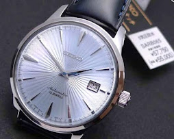 SEIKO COCTAIL - SEIKO SARB065 - AUTOMATIC 6R15C - BRAND NEW WATCH