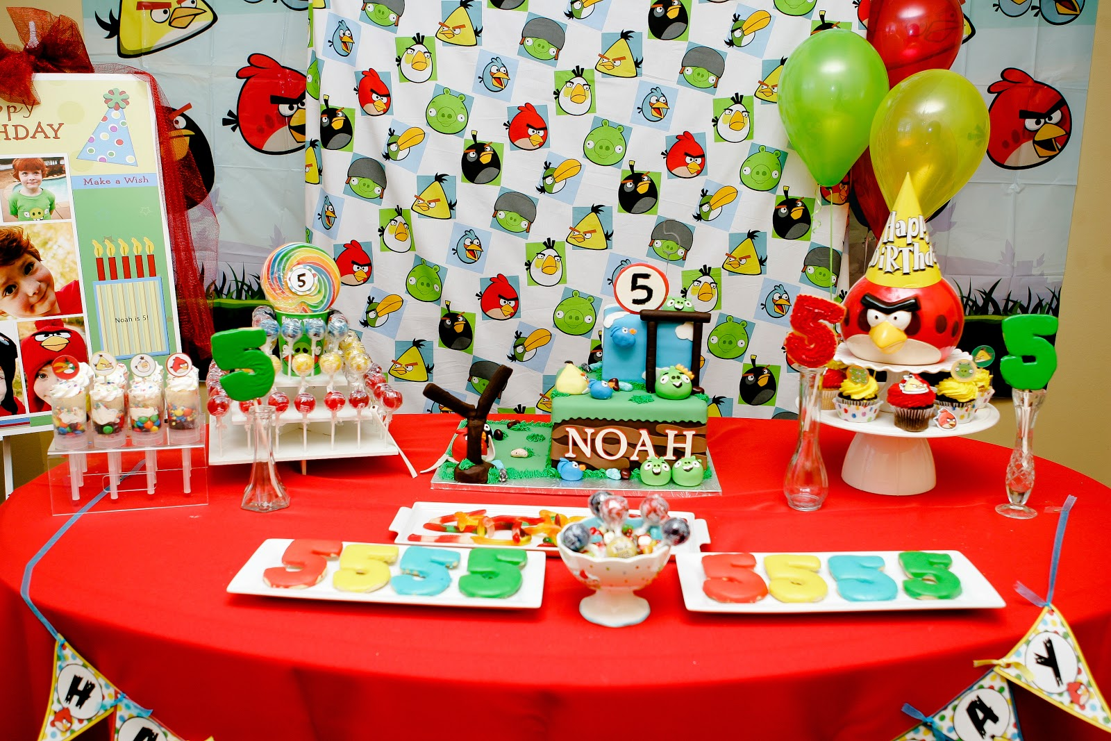 Choosing joy today angry bird party decorations for Angry birds party decoration ideas