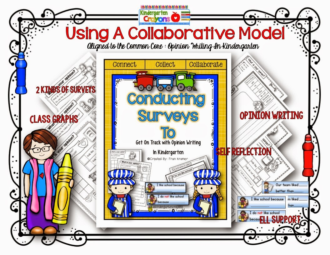 Kramer Collaborative Classroom ~ Kindergarten crayons what s your opinion minion