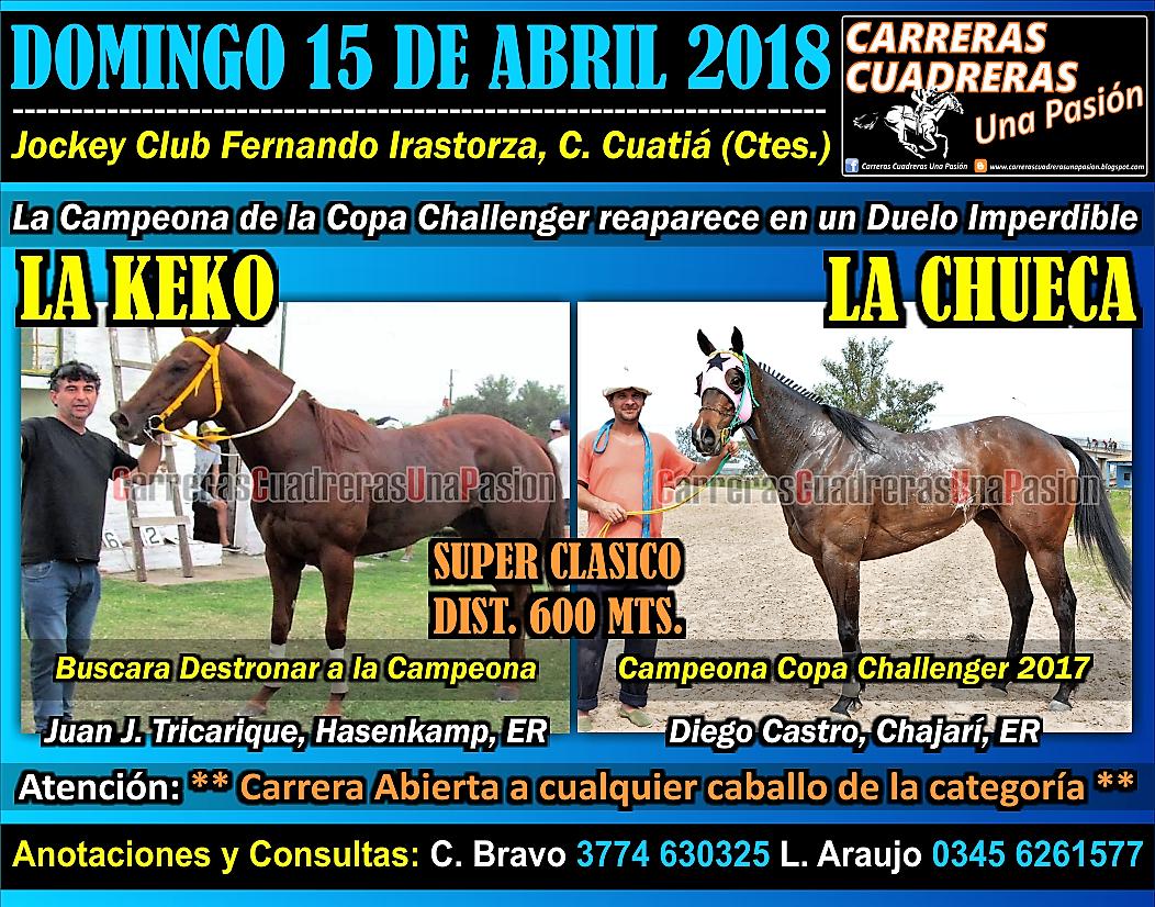 C. CUATIA - CLASICO 600 - 15.04.18
