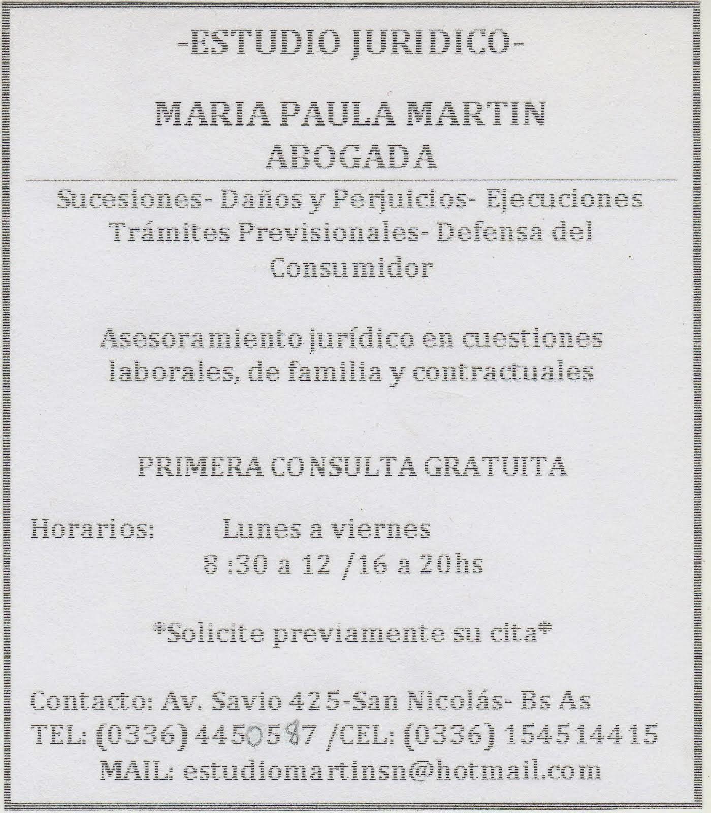 ESTUDIO JURIDICO MARTIN