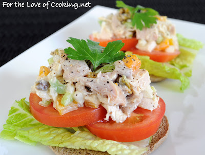 Pistachio Chicken Salad Sandwich
