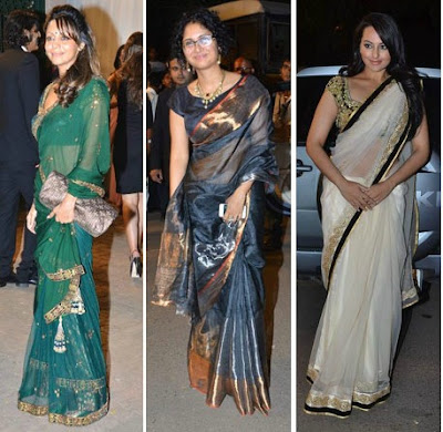 Sonakshi Sinha, Gauri Khan, Kiran Rao