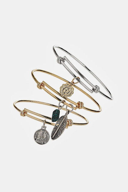 topshop bangle set