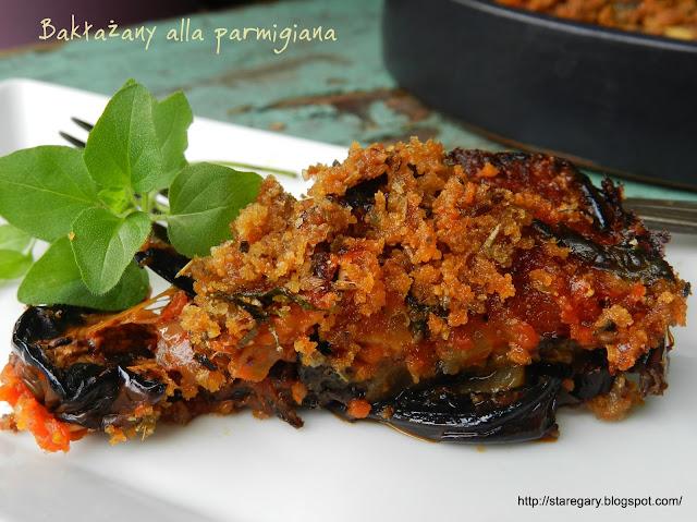Bakłażany alla parmigiana wg Jamiego Olivera