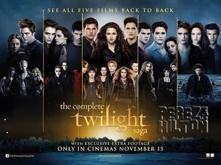 مشاهدة سلسلة افلام توايليت Twilight