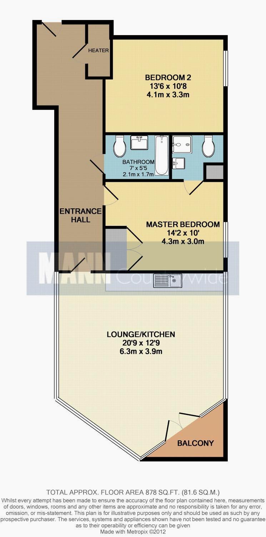 金絲雀碼頭住宅公寓樓盤圖