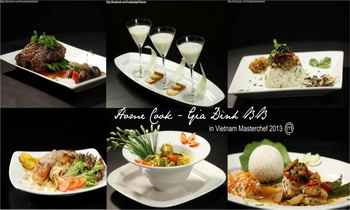 Đa phong cách ẩm thực tại Home-Cook Gia đình BB, nhà hàng Home-Cook Gia đình BB, gia dinh masterchef, nha hang ngon, mon ngon ha noi, ha noi am thuc, am thuc Viet, dia chi am thuc, diem an uong ngon