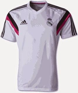 jual online baju bola, grade ori, jual baju bola training madrid putih, ready atock, baju bolan online madrid training